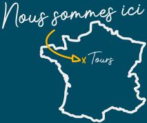 carte de la france montrant l'emplacement d'hopoli