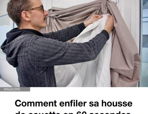 Ouest France vous dit comment changer la housse de couette